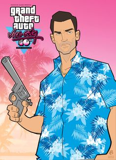 Grand Theft Auto: Vice City 10th Anniversary by *PatrickBrown on deviantART