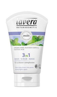 Lavera 3in1 wash-scrub-mask 125ml