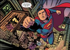 Chris Samnee Art | April 29, 2013 - Superman Lives Again-Art by Chris SamneeSamnee draws ...