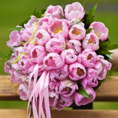 Tulip Grace Bridal Bouquet - Tulip Grace Bridal Bouquet > View Full-Size Ima...   Bouquet, Grace, Tulip, Product, Purchased   B