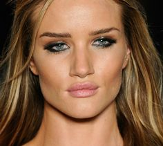 Beautiful make-up....and her bone structure certainly helps!