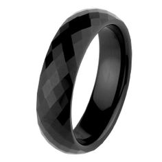 Valentines Day 6mm Faceted Black Cobalt Free Tungsten Carbide COMFORT-FIT Wedding Band Ring for Men and Women (Size 5 to 15) The World Jewelry Center. $18.00. Tungsten has a tendency to break when hit with a hard material. Promptly Packaged with Free Gift Box and Gift Bag. scratch proof