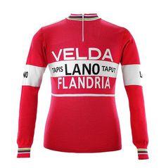 Freddy Maertens 1978 Velda-Flandria Long Sleeve Vintage Jersey 991268207