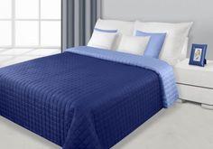 Granátovo-modrý prehoz Eva je dostupný v 4 rozmeroch: 70x150, 170x210, 220x240 alebo 230x260 cm.