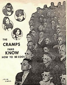 the cramps fans know how to be cool