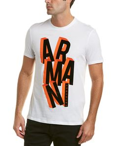 9b963dc23a12 ARMANI EXCHANGE FLOCKED LOGO T.  armaniexchange  cloth