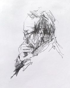 Coffee Shop Sketchbooks - Original artwork by davidhewittartist.com #Art #Drawing #Sketchbooks #Pencil #Sketch
