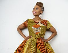 African clothing: Exclusive The Li Li Afro Belle by LiLiCreations