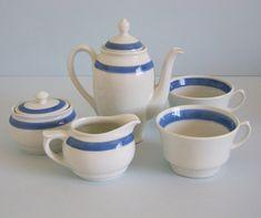 Arabia of Finland Mocha/ Tea Set