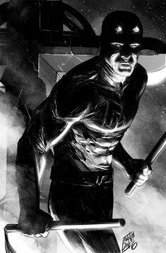 DD lights study by michelebandini on DeviantArt Daredevil Art, Daredevil Matt Murdock, Comic Book Characters, Comic Books Art, Comic Art, Marvel Xmen, Marvel Heroes, Light Study, Marvel Comics Art