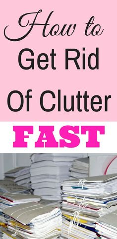 Here is how to declutter and organise your home fast with ideas about how to tackle each room and cr Declutter Home, Declutter Your Life, Organizing Your Home, Organizing Tips, Decluttering Ideas Feeling Overwhelmed, Clean House Schedule, Organisation Hacks, Organising Hacks, Getting Rid Of Clutter