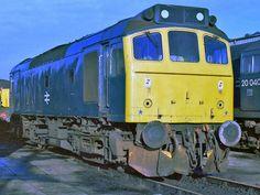 British Rail, Locomotive, Diesel, Diesel Fuel, Locs