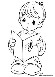 precious moments 54 coloring page free precious moments coloring pages