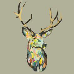Ben Daffy - Run Wild [2014] 1m x 1m Acrylic, Enamel & Ink on canvas. POA