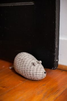 Image of gathered goods | hand made wool mice | paper weight | door stop