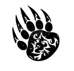 Image result for Blackfoot Indian Bear Paw Symbol