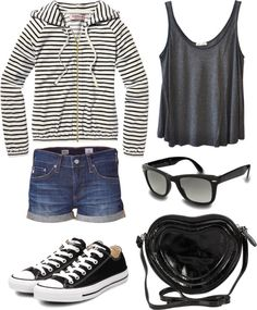 Literally have everything to duplicate this outfit<3 Minus the shades..