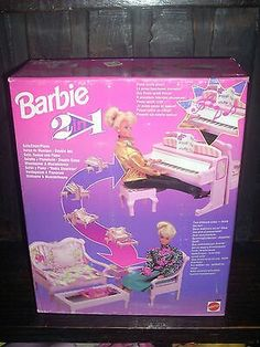 Barbie 2 in 1 Sofa/Chair/Piano Playset. 1993. Vintage. Rare exemplar. Hard to find. 〰 FOR SALE 〰  NRFB !!! BEST PRICE❗❗❗ #barbie #barbie2in1 #playset #sofachairpiano #vintage #hardtofind #rareexemplar #nrfb #bestoffer #bestprice @barbie #mattel @mattel #ilovebarbie #barbies #barbiedoll #instadoll #dollgram #instabarbie #barbiegram #thebarbiecollection  #collectorbarbie #barbiecollector #barbiecollectors #barbiecollection #collectionbarbie #forsale #barbieforsale #forsalebarbie #offer…