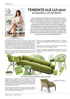 Tendințe ale lui 2017 în designul de interior - Revista OKRevista OK