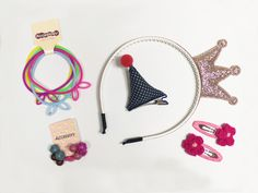 Fun girls hair accessory set