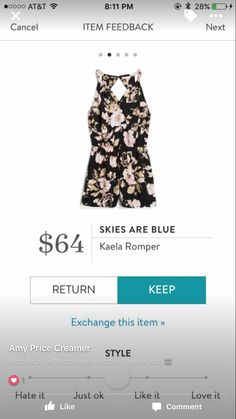 Stitch Fix Skies Are Blue Kaela Romper