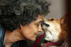 City Sighting – Arundhati Roy, Somewhere in Delhi