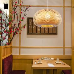 b ja suspension rotin bambou lowlights ikea et suspension. Black Bedroom Furniture Sets. Home Design Ideas