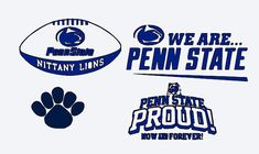 SVG, penn state, penn state lions, penn state football, college football, cut file, printable file,  cricut, silhouette, instant download