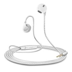 Earphone LS200, For iPhone 6, 6S, 5, 5S, Headphones With Microphone, 3.5mm, Jack Bass, Headset, For apple, Xiaomi, sony, Sport Headphones