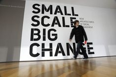 Small Scale Big Change - The Department of Advertising and Graphic Design