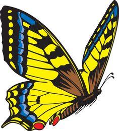 free clip art butterfly clip art free butterfly clip art rh pinterest com clip art butterfly free clip art butterfly images