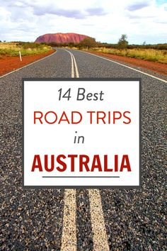 14 Best Road Trips in Australia Planning to visit Australia? The best way to see this vast country is on a road trip. Here are 14 of the best road trips in Australia for your bucket list. Outback Australia, Visit Australia, Australia Travel, South Australia, Western Australia, Study Abroad Australia, Australia Country, Cairns Australia, Melbourne Australia