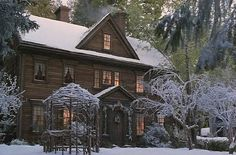 House from the movie version of Little Women...Love that movie!