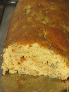 Cininha : Torta de bacalhau