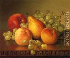 Robert Spear Dunning:Fruit Still Life
