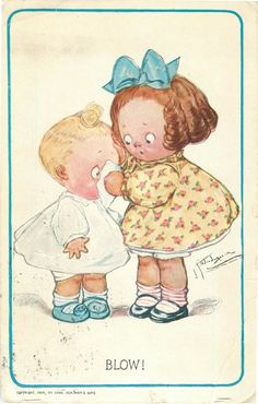 Postcard Artist Grace Wiederseim Grace Drayton Blow Children   eBay