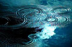water reflections circles