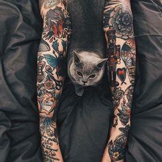Sleeve and Hand Tattoos . Sleeve and Hand Tattoos . Pin by Samra Says On Tattoo Ideas 3 Great Tattoos, Beautiful Tattoos, Body Art Tattoos, Hand Tattoos, Girl Tattoos, Tattoos For Women, Forearm Tattoos, Tatoos, Tattoo On