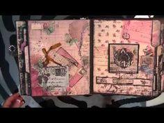 Prima Romance Novel File Folder Album - YouTube