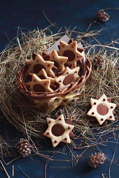 Wiem co jem: Gwiazdki kakaowo-waniliowe z gianduią