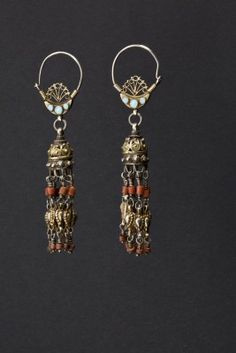 Earrings Uzbekistan First half 1900