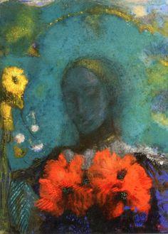 Homage to Gauguin, Odilon Redon