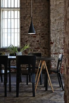 Like the atmosphere of this dining room.