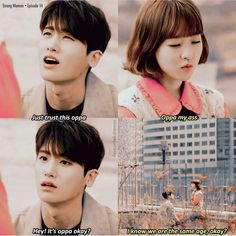 *Strong woman do bong soon* Korean Drama Funny, Korean Drama Quotes, Strong Girls, Strong Women, Strong Woman Do Bong Soon Funny, Ahn Min Hyuk, Kpop, W Two Worlds, Drama Fever
