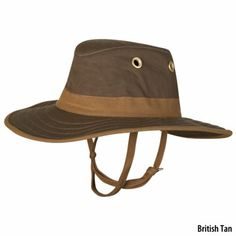 Tilley Outback Waxed Cotton Hat - Overton's