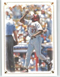2007 Upper Deck / UD Masterpieces 32 Vladimir Guerrero - Los Angeles Angels       (Baseball Cards) -- Continue to the product at the image link.
