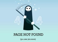 creative 404 page / these pages also need UI & UX!