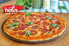Evde Pizza Tarifi Nasıl Yapılır? – Nefis Yemek Tarifleri Pizza Recipes At Home, How To Make Pizza, Pepperoni, Vegetable Pizza, Yummy Food, Delicious Recipes, Food And Drink, Sunscreen, Foods