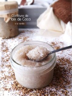 Confiture de Noix de coco à la vanille de Tahiti