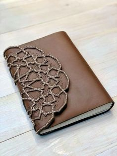 Leather Handmade Notebook  By: Noon Designs